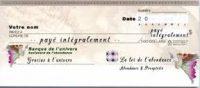 Le chèque d'abondance 2020