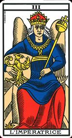 Impératrice du tarot de marseille
