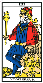 Empereur du tarot de marseille