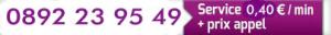 David voyance en ligne - Bandeau blanc et violet avec notre numéro audiotel pour des consultations à 0.40€/minute.
